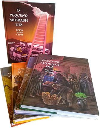 Coleção O Pequeno Midrash - 5 volumes - capa dura
