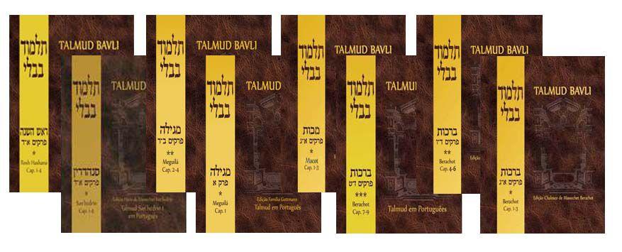 Coleção Talmud Bavli - 9 Vols
