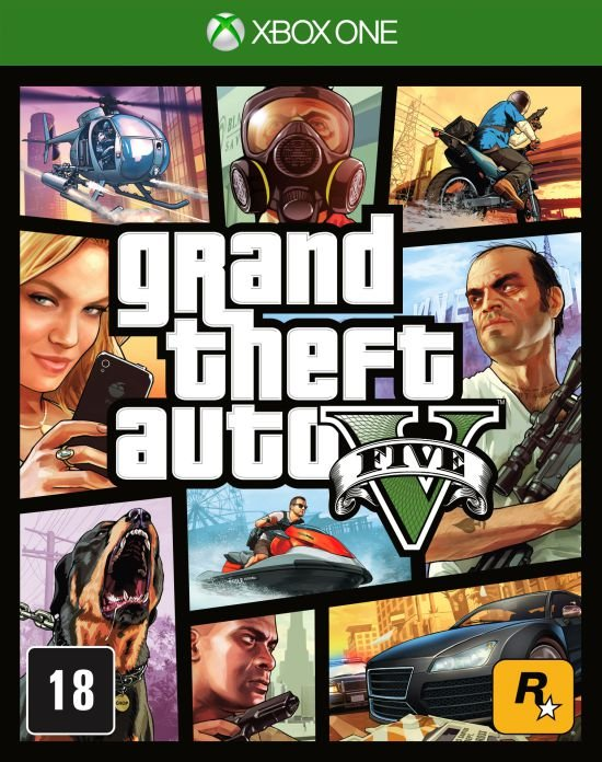 Jogo Xbox One - Grand Theft Auto V - GTA 5