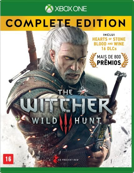 Jogo Xbox One - The Witcher 3 Wild Hunt  Complete Edition