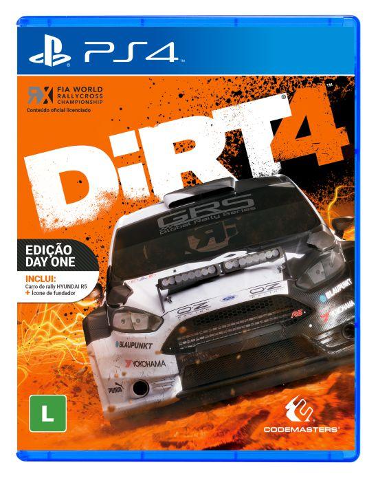 Jogo Playstation 4 - Dirt 4