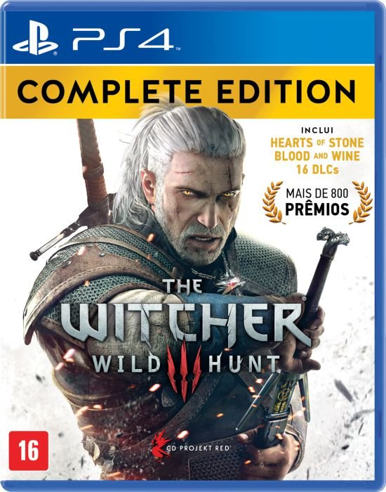 Jogo Playstation 4 - The Witcher 3 Wild Hunt - Complete Edition