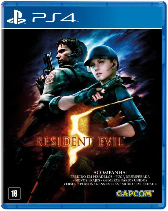 Jogo Playstation 4 - Resident Evil 5