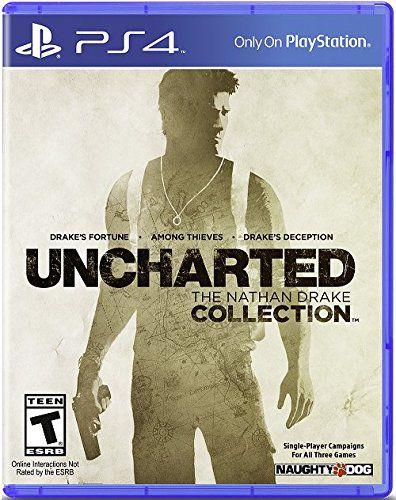Uncharted: The Nathan Drake Collection - PS4 (Semi Novo)