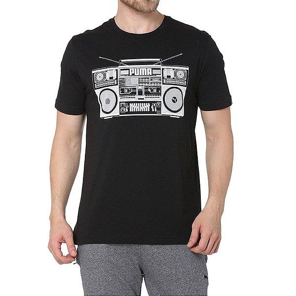 Camiseta Puma BB Cotton Black