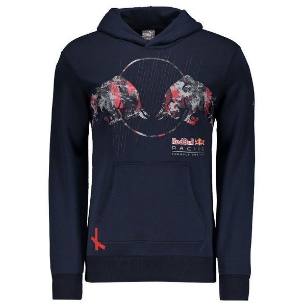Moletom Puma Red Bull Racing Graphic Azul
