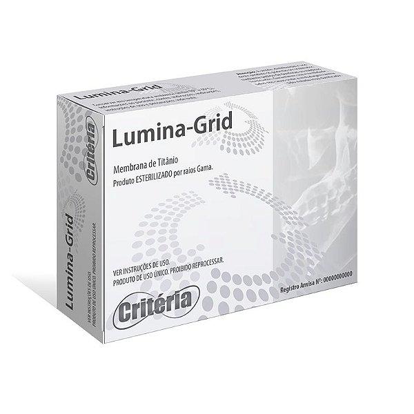Tela de Titânio LUMINA-GRID MACRO MESH (20x30x0,08mm - 1,5mm) - CRITÉRIA