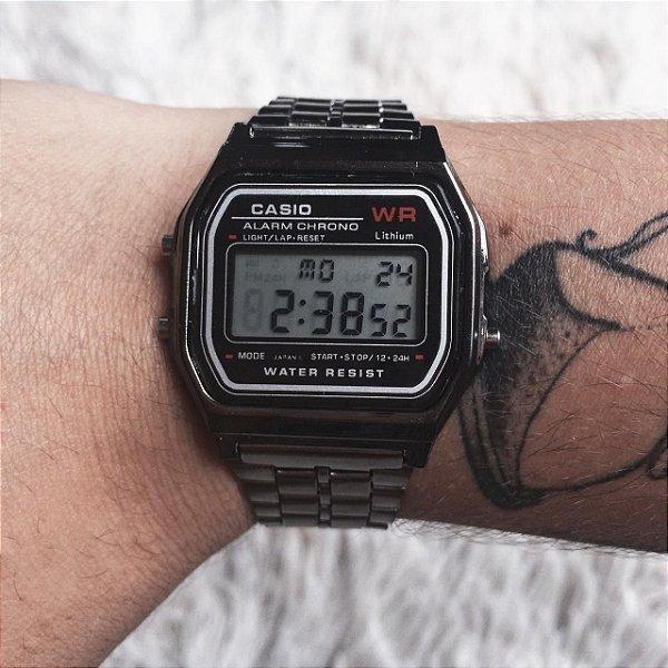 Relógio vintage chumbo