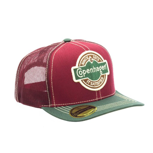 Boné Copenhagen Original Brand Red/Green