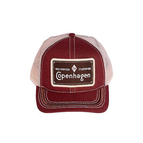 BONÉ COPENHAGEN RED BROWN - WILD WESTERN IT SATISFIES