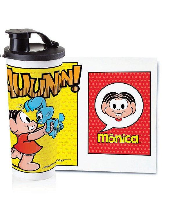 Tupperware Copo com Bico Mônica 470 ml