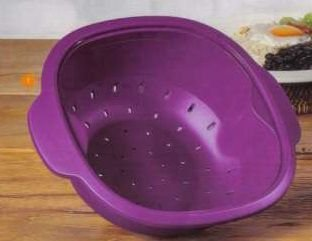 Tupperware Escorredor Thermo Tup Rosa