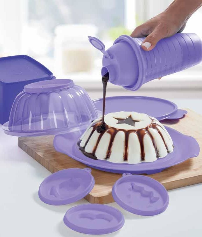 Tupperware A Mágica 1 litro Lilás
