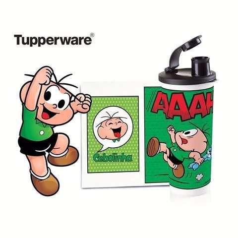 Tupperware Copo com Bico Cebolinha 470 ml