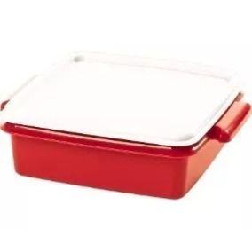 Tupperware Pote Vermelho 780ml
