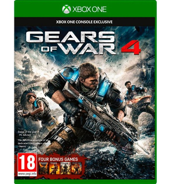 Gears Of War 4 (Totalmente em Português) - Xbox One