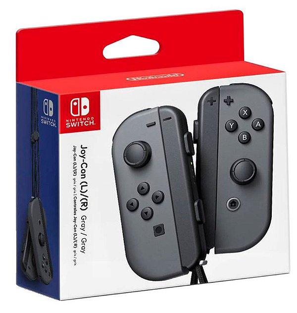 Joy Con (Esquerda/Direita) Gray - Nintendo Switch