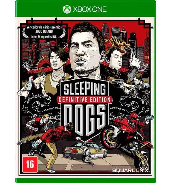 Sleeping Dogs: Definitive Edition com DLC - Xbox One