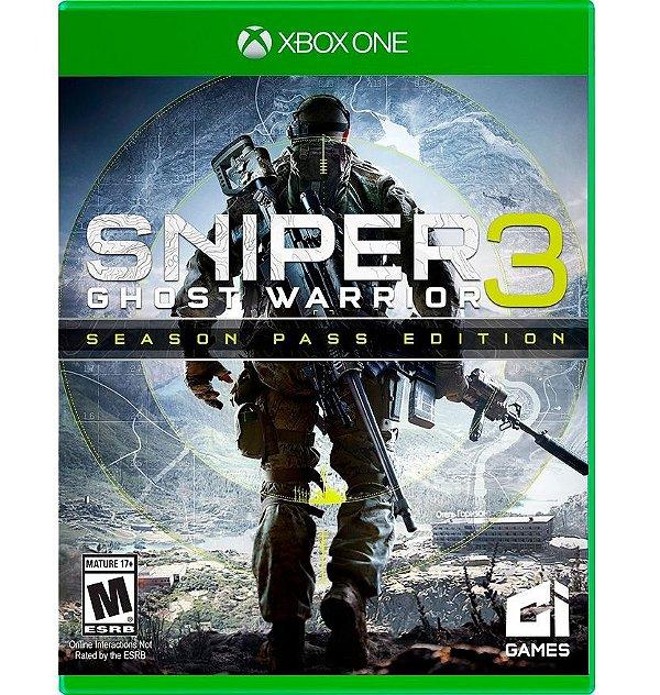 Sniper Ghost Warrior 3 - Edição Limitada - Xbox One