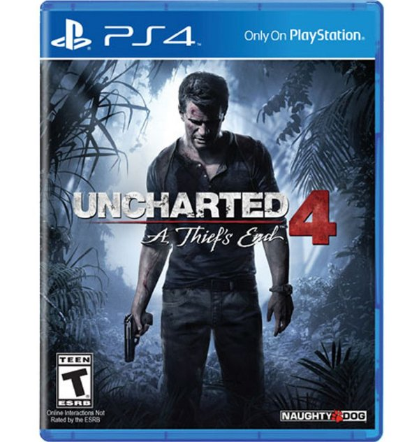 Uncharted 4: A Thief´s End - PlayStation 4