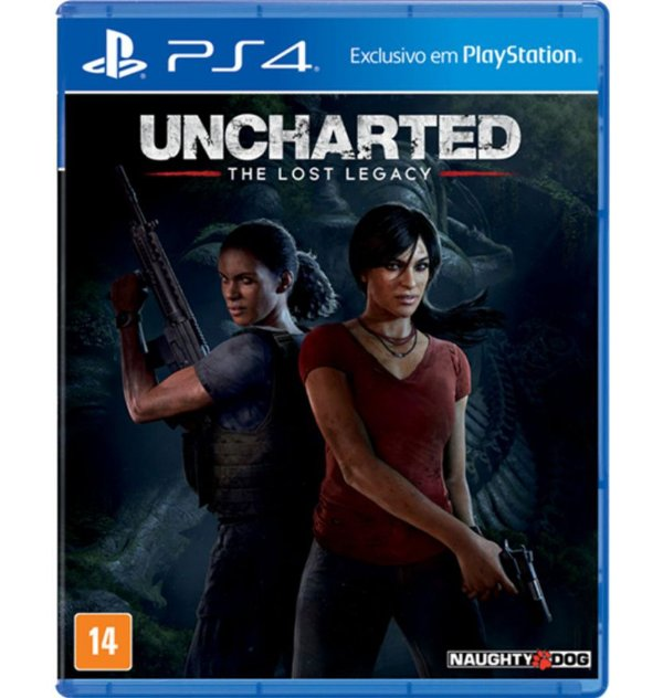 Uncharted - The Lost Legacy - PlayStation 4