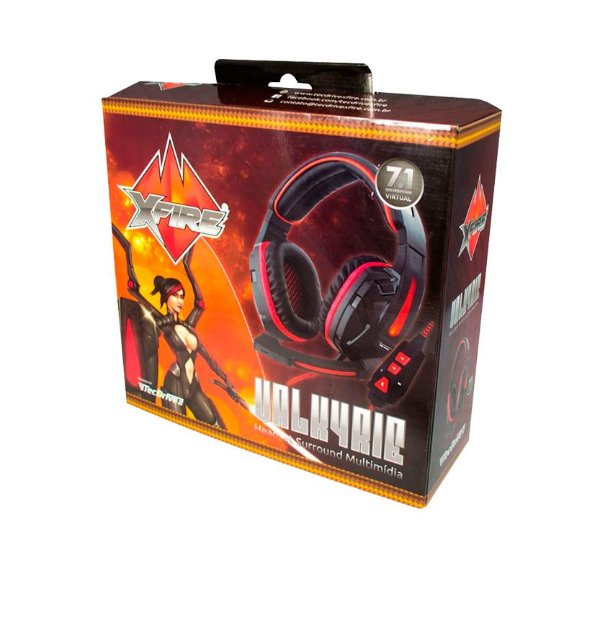 Headset Valkyrie 7.1 - PC