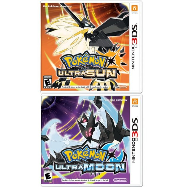 Pokemon Ultra Sun + Ultra Moon - Nintendo 3DS