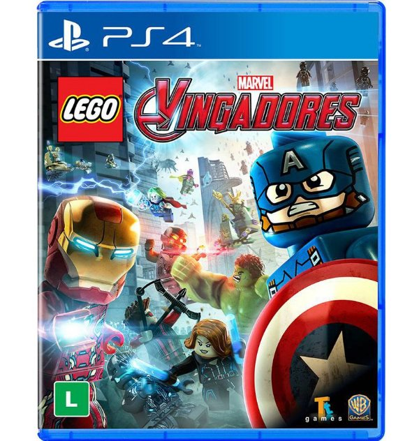 Lego Marvel Vingadores - PlayStation 4