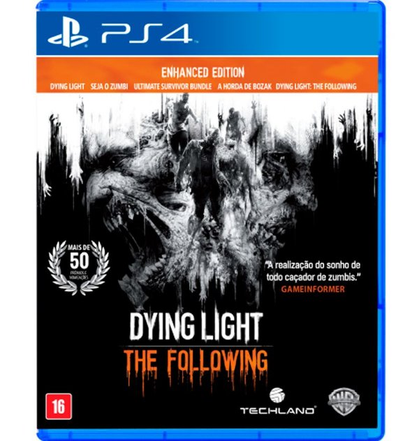 Dying Light: The Following - PlayStation 4