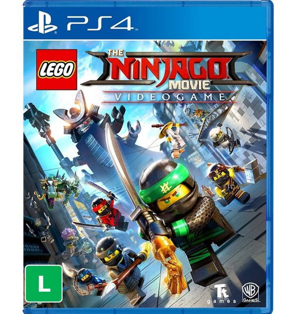 LEGO NinjaGo o Filme - PlayStation 4