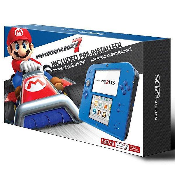 Nintendo 2DS com Mario Kart 7