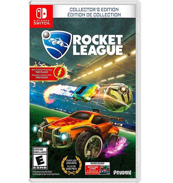 Rocket League: Edição de Colecionador - Nintendo Switch