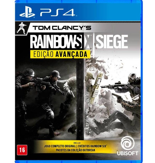 Tom Clancy's Rainbow Six: Siege Edição Avançada - PlayStation 4