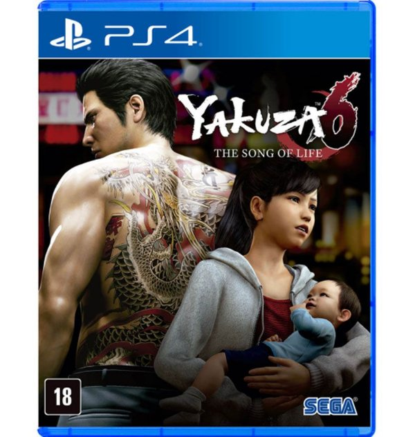 Yakuza 6: The Song of Life - PlayStation 4