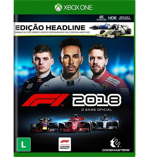 F1: 2018 Edição Headline - Xbox One