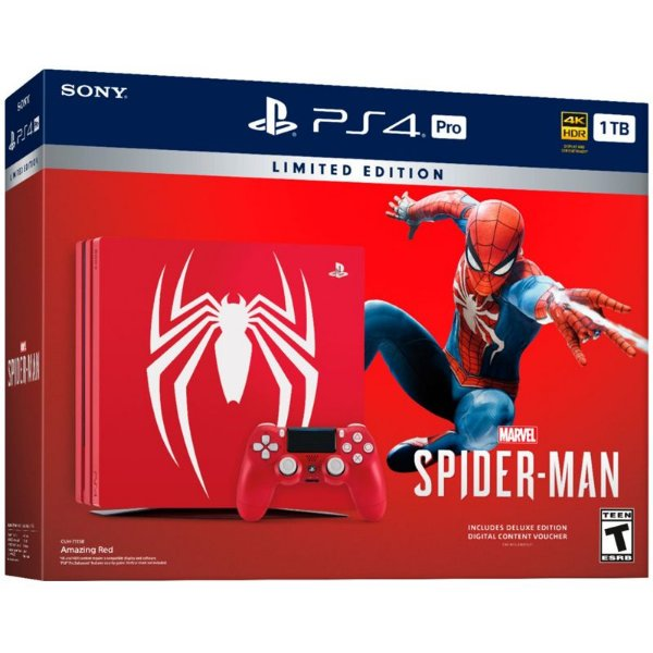 PlayStation 4 PRO 1TB  Marvel Spider Man - Limited Edition