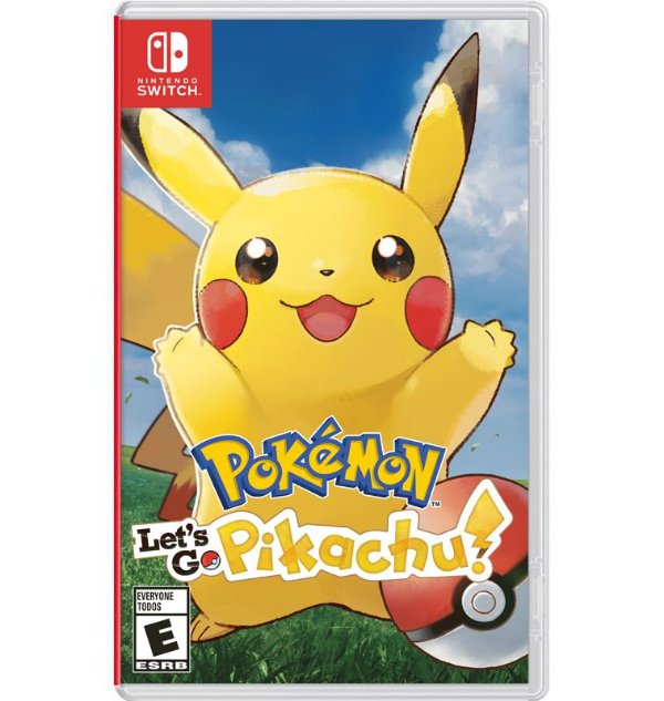 Pokemon: Let´s Go Pikachu - Nintendo Switch