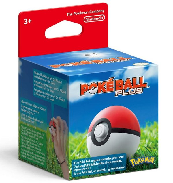 Poké Ball Plus - Nintendo Switch