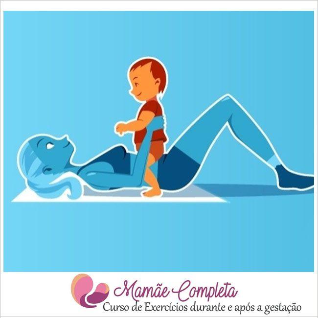 Curso de Exercícios para Gestantes Mamãe Completa