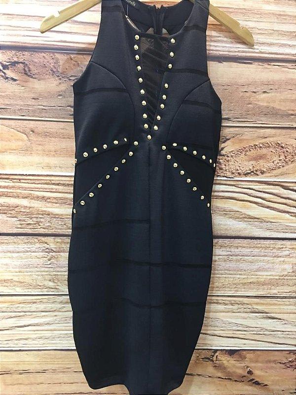 Vestido Casual - Black