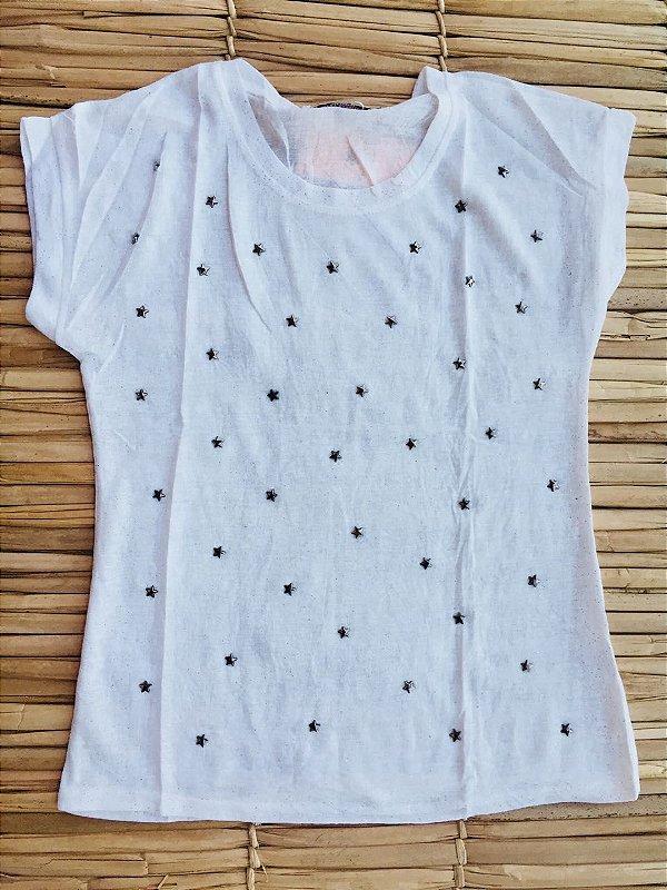 Blusinha Stars - White