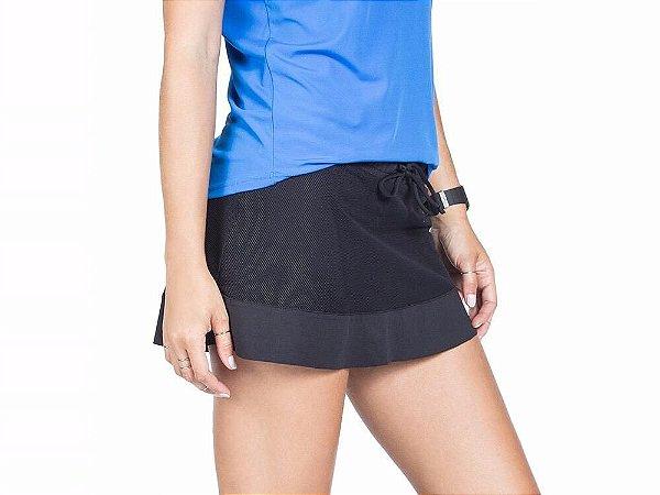 Saia Shorts Bio Net - Preto