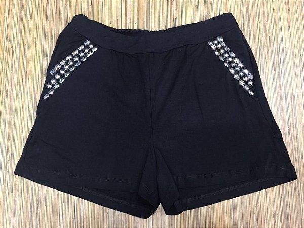 Shorts Pedraria - Black