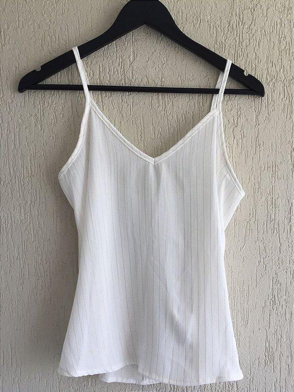 Blusinha Off-White