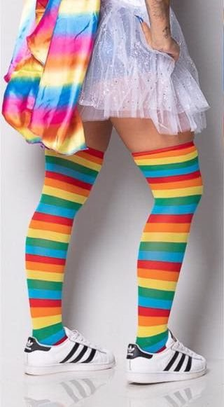 Meia Rainbow
