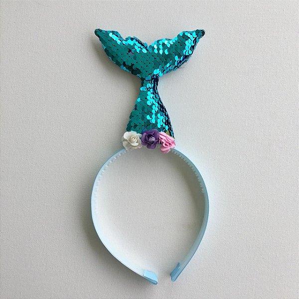 Arco Fantasia Sereia - Azul