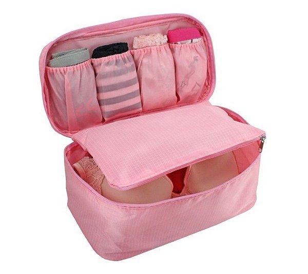 Porta Lingerie - Necessaire - Light Pink