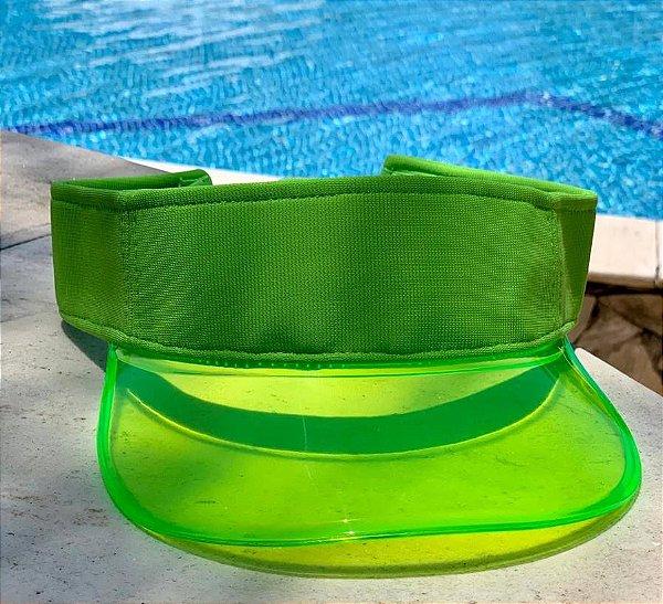Viseira Transparente - Green