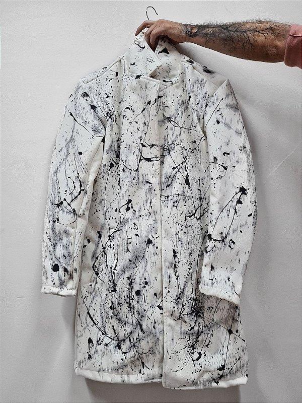 Casaco Grafitti Branco