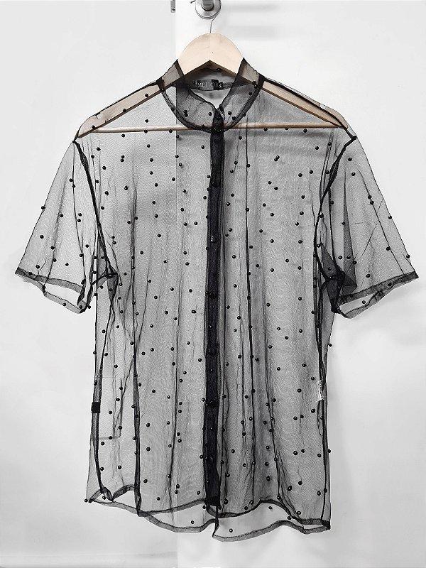 Camisa Pérola Negra